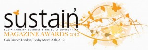 Sustain Magazine Awards 2012
