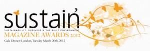 Sustain Magazine Awards 2012