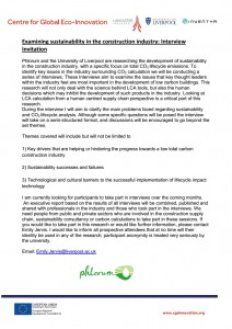 Sustainable buildings flyer