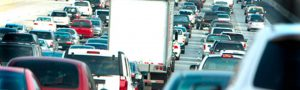 Road traffic pollution