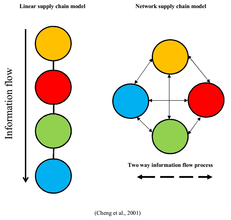Linear and network supply chains
