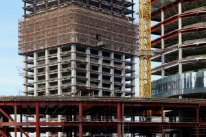 Steel and concrete construction
