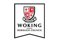 Woking borough council logo