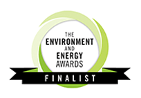 Enviroment & Energy Awards Finalist Logo