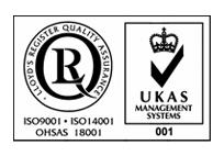 ISO 9001 / 4001 / 1800 Logo