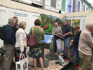 PCA stand at Chelsea Flower Show