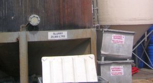 Abattoir waste odour monitoring