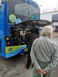 Ultra low emissions bus