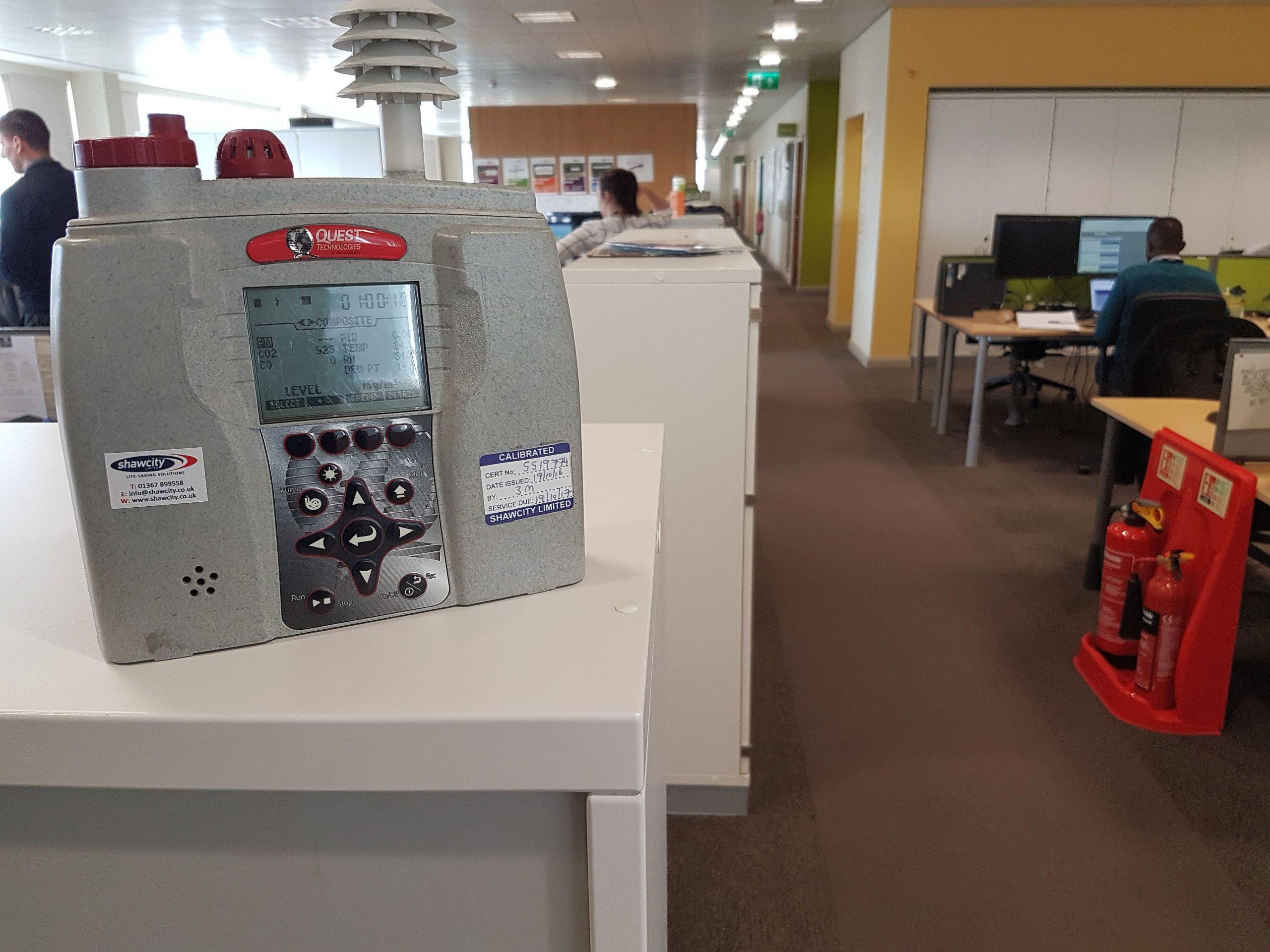 Indoor air monitoring